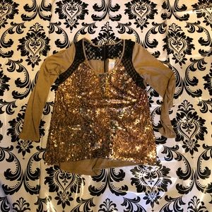 Daytrip sequin shirt